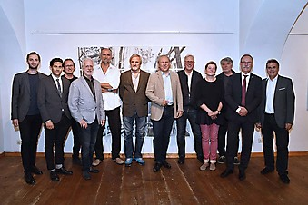 Doppel-Vernissage in der Schlossgalerie Steyr - Robert Hofer & Günther Schafellner